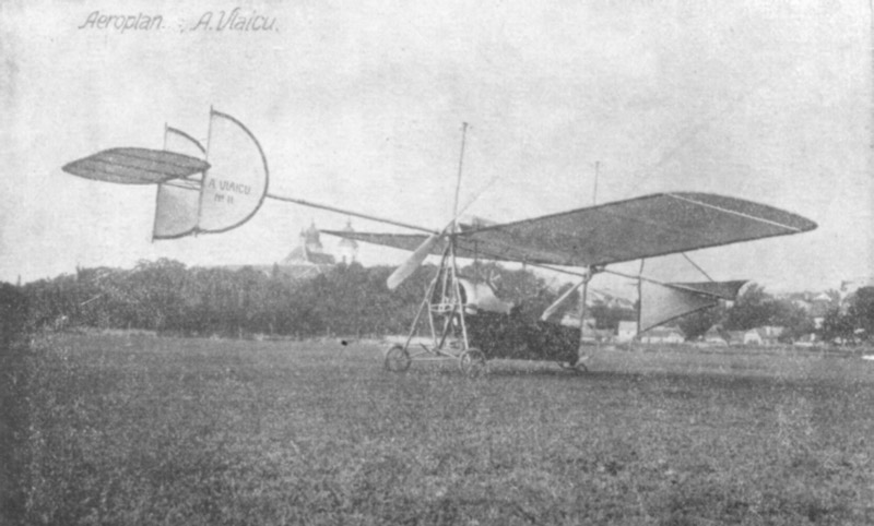 Vlaicu II, avionul pe care l-a pilotat în ziua prăbușirii | Sursa: Wikipedia, domeniu public