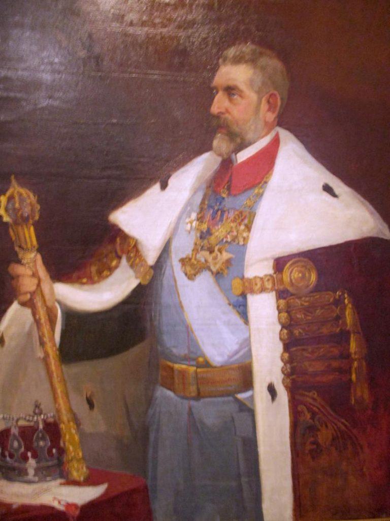 Regele Ferdinand, pictură de Stoica Dumitrescu