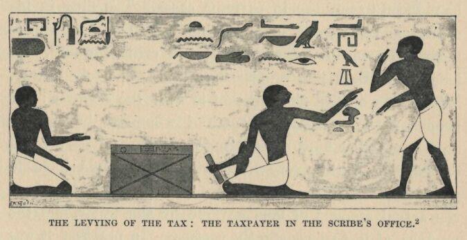 Plata impozitului în Egiptul antic | Sursa foto: Mirror service