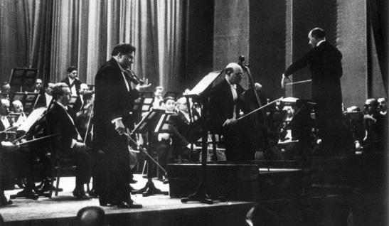 Pablo Casals, George Enescu, George Georgescu| Sursa: Despre Operă