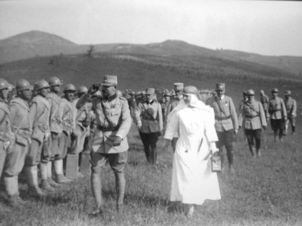 Regele Ferdinand și regina Maria pe frontul Marelui Război (1916–1918)