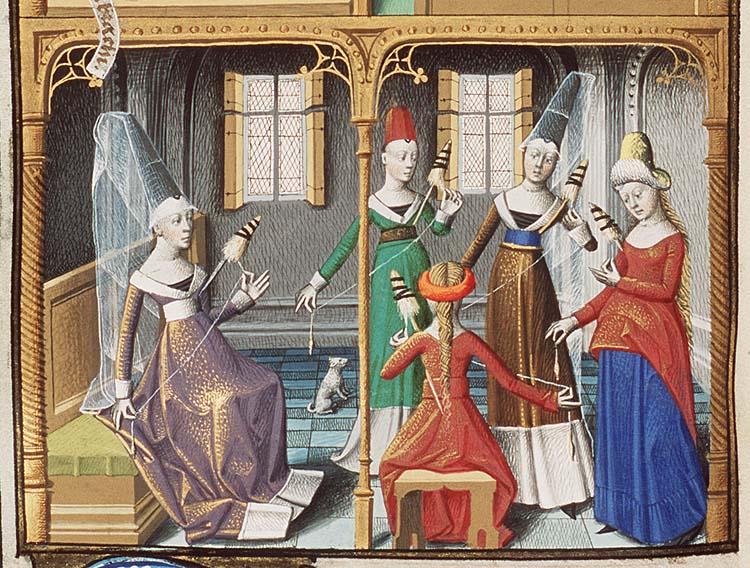 'Educația' femeilor în timpurile medievale | Sursa: wludh