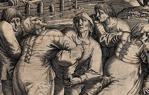 Foto Cover - Epidemia de dans Strasbourg 1518