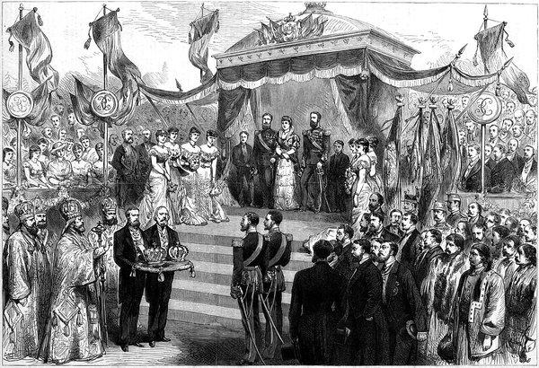 La ceremonia de încoronare a regelui Carol I al României s-a auzit prima dată Imnul național al Regatului României