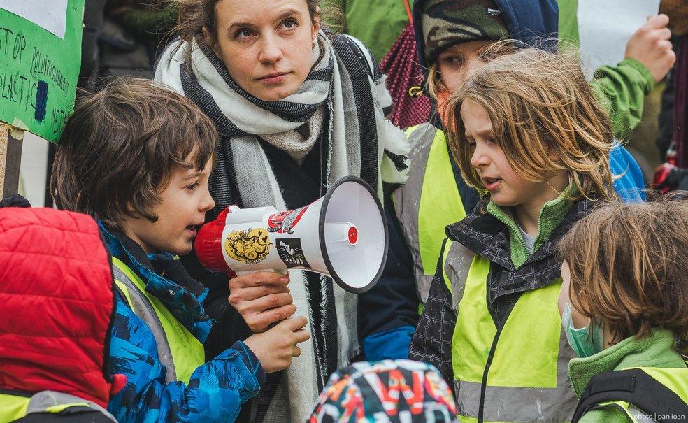 Copiii români, preocupați de mediu