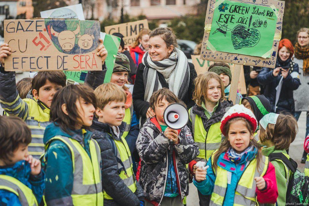 Copii români, preocupați de mediu