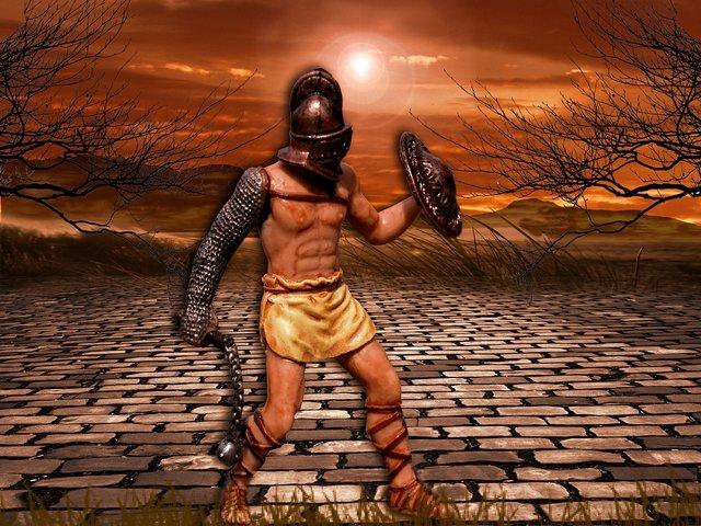 Gladiator | Credit imagine: Kalhh, Sursa: Pixabay