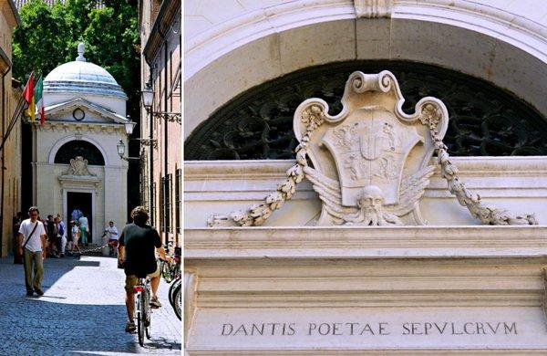 Mormântul lui Dante, Ravenna, Italia, este vizitat anual de peste 400.000 de turiști | Credit foto: Mira Kaliani