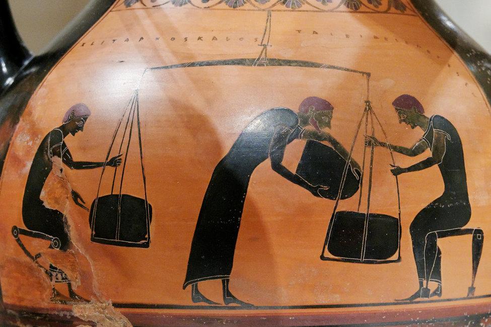 Taxe în Grecia antică | Sursa foto: Wikipedia, domeniu public