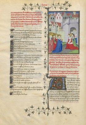 O pagină din Cartea cetății doamnelor, din original | Sursa: World Digital Library/National Library of France