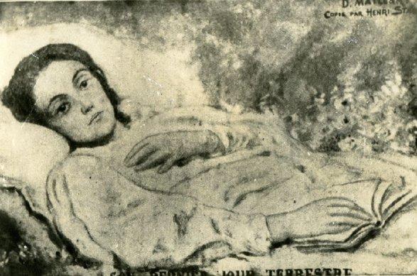 Iulia, în ultima ei zi pe pământ. Fotografie după tabloul lui Diogène Maillart | Sursa: Muzeul Hasdeu