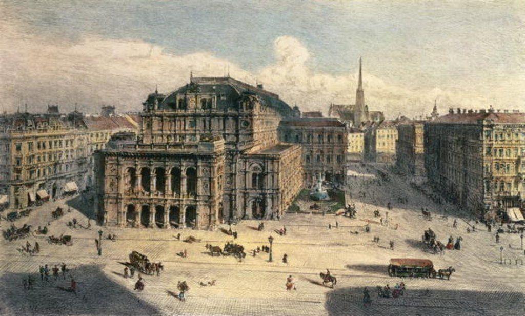 Viena, Austria, circa 1869, anul în care Mihai Eminescu a ajuns acolo pentru studii în filosofie | Artist: Rudolf von Alt | Sursa: MagnoliaBox