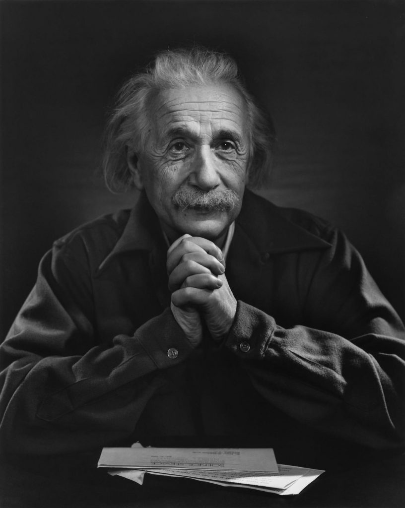 Albert Einstein la Institute for Advanced Study Princeton, 1948 | Credit foto: Yousuf Karsh, Sursa: karsh.org
