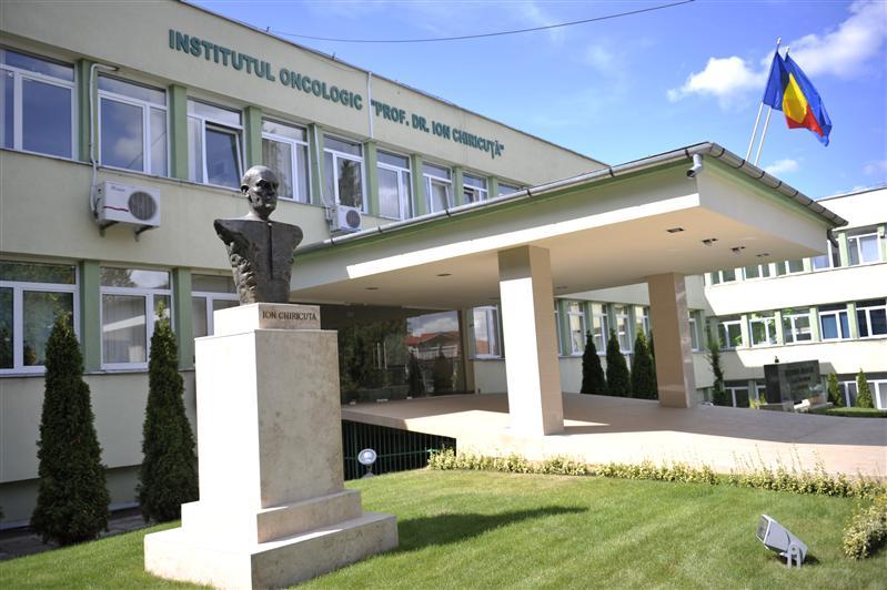 """Institutul Oncologic """"Prof. Dr. Ioan Chiricuţă"""". Sursă foto: Instituții Medicale"""