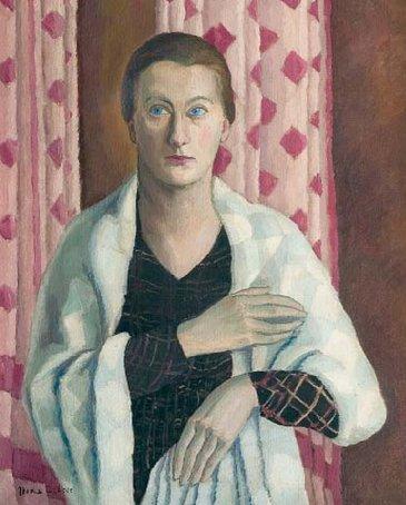 Autoportret, 1937, ulei pe pânză | Nina Arbore | Colecţia Muzeului Municipiului Bucureşti