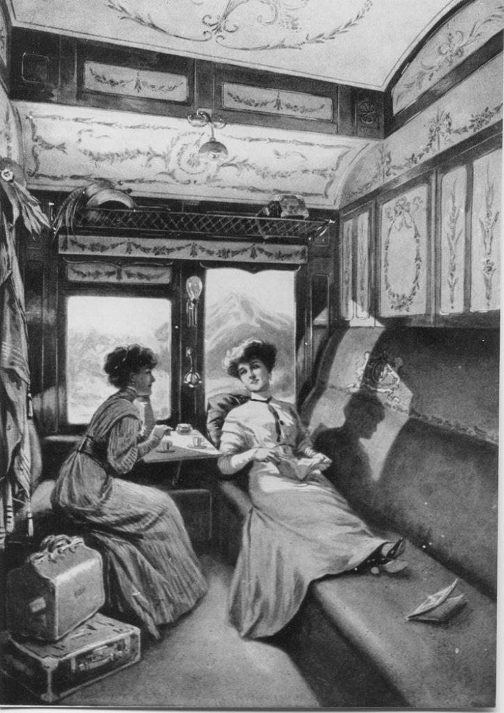 Vagon de dormit | Sursa: Trains World Expresses
