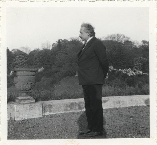 Albert Einstein, Laeken, Belgia, 1933 | Sursa: ETH Library