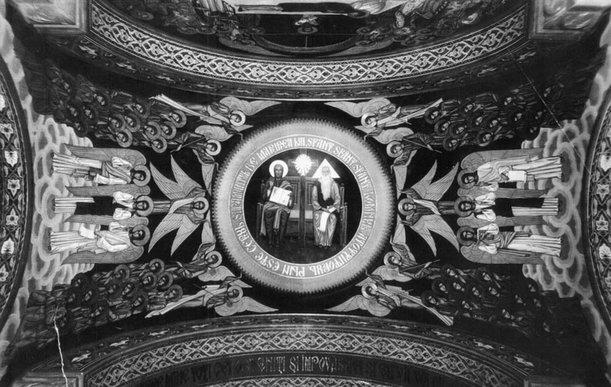 Nina Arbore, frescă, 1936–1938, biserica Sf. Împăraţi din Constanţa