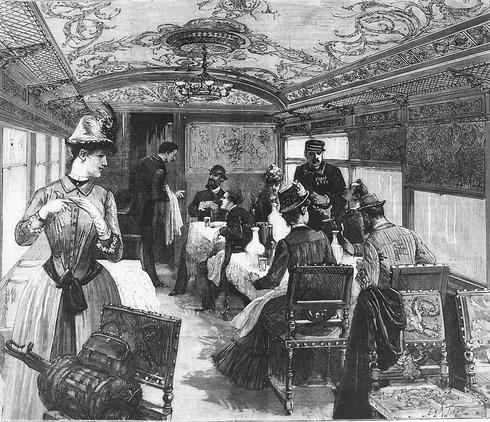 Vagon-restaurant | Sursa: Trains World Expresses