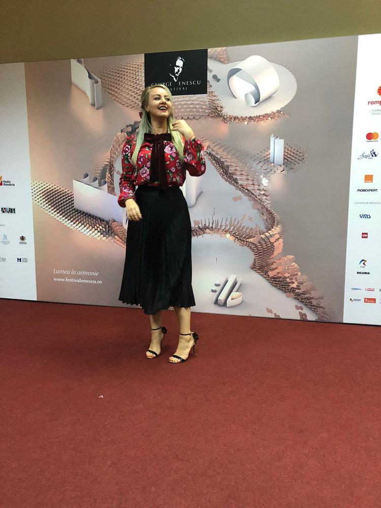 Alexandra, trăind experiența Enescu