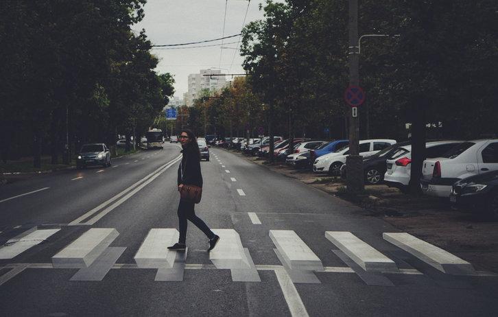 Trecere 3D - București