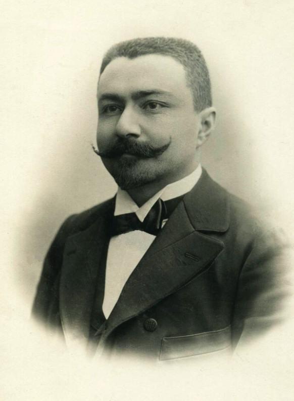 Emil Racoviță, portret făcut înainte de plecarea în expediție | Arhiva Emil Racoviță, emil-racovita.speosub