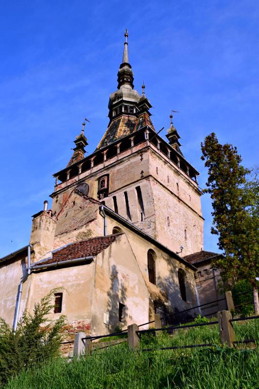 Turnul cu Ceas, Sighișoara | Credit foto: Mira Kaliani