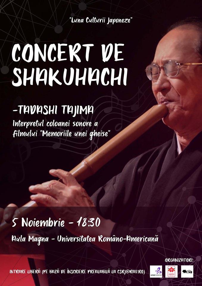 Concert Tadashi Tajima în București