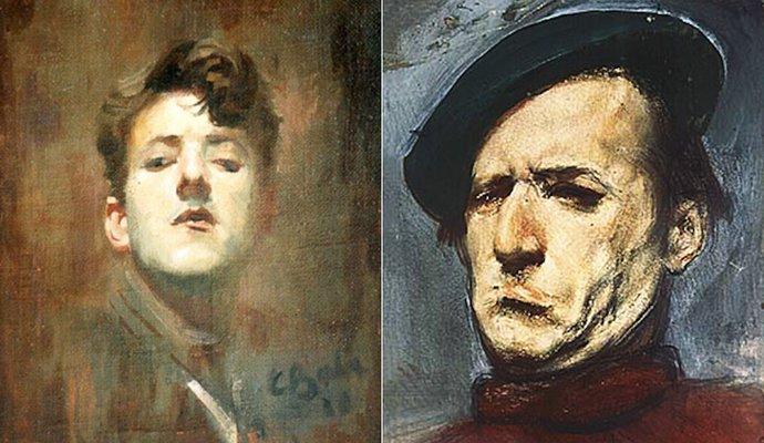 Autoportrete – 1932, 1951; Artist: Corneliu Baba | Sursa foto: corneliu-baba.org