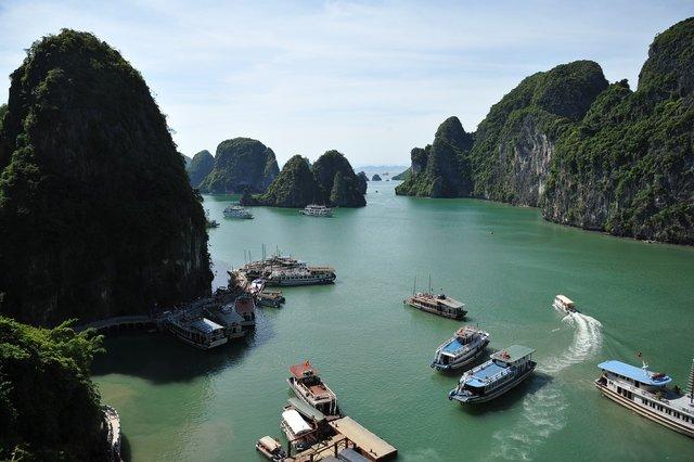 Ha Long Bay, Vietnam | Credit: Oldjap, Sursa: Pixabay
