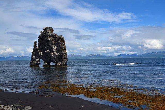 Hvítserkur, Islanda | Credit: Alexandra, Sursa: Pixabay