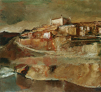 Toledo – 1973; Artist: Corneliu Baba   Sursa foto: corneliu-baba.org