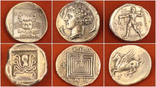 Monede | Sursa: Ancient History Encyclopedia