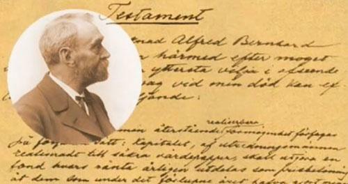 Alfred Nobel   Sursa: NobelPrize.org