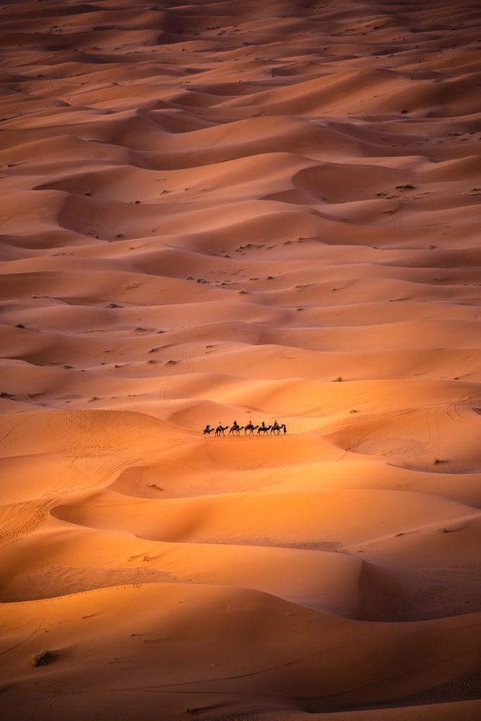 """""""Singur în deșert"""" , fotografie de Carles Alonso / AGORA Images"""