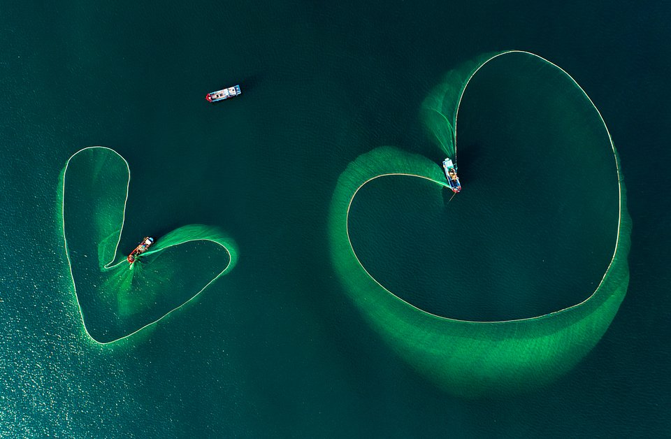 """Inimi pe mare"" , fotografie de Nguyen Phan Xuan / AGORA Images"