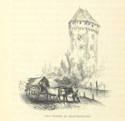 Klausenburg/Cluj, 1839 | Sursa: British Library