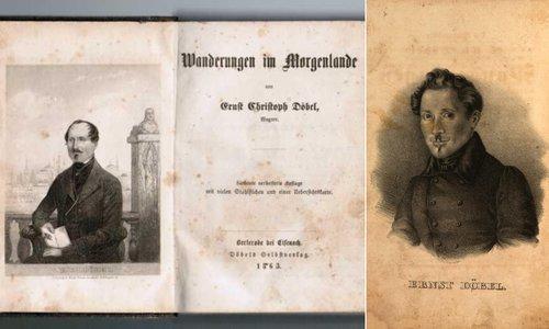Ernst Christoph Döbel | Coperta lucrării lui Wanderungen in Morgenlande