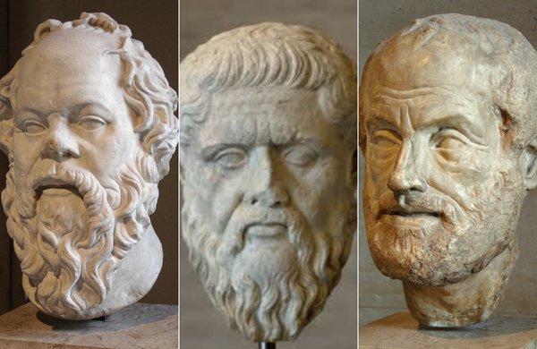 Socrate, Platon, Aristotel | Sursa: Wikipedia