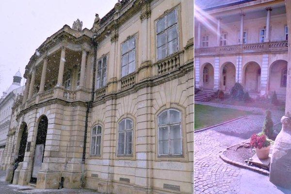 Palatul Banffy, Cluj-Napoca, fațada și curtea interioară | Credit foto: Mira Kaliani