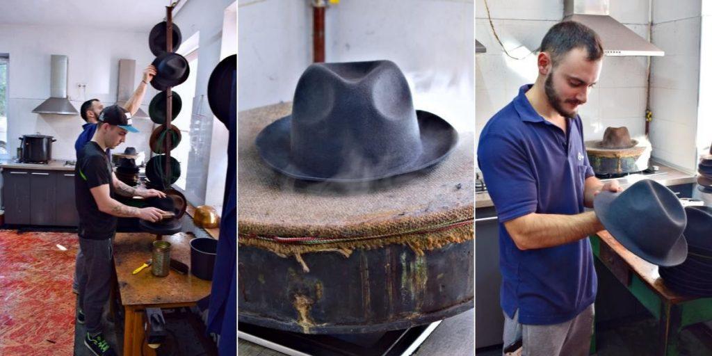 Unde fiecare pălărie se curăță și capătă forma finală   Credit foto: Mira Kaliani