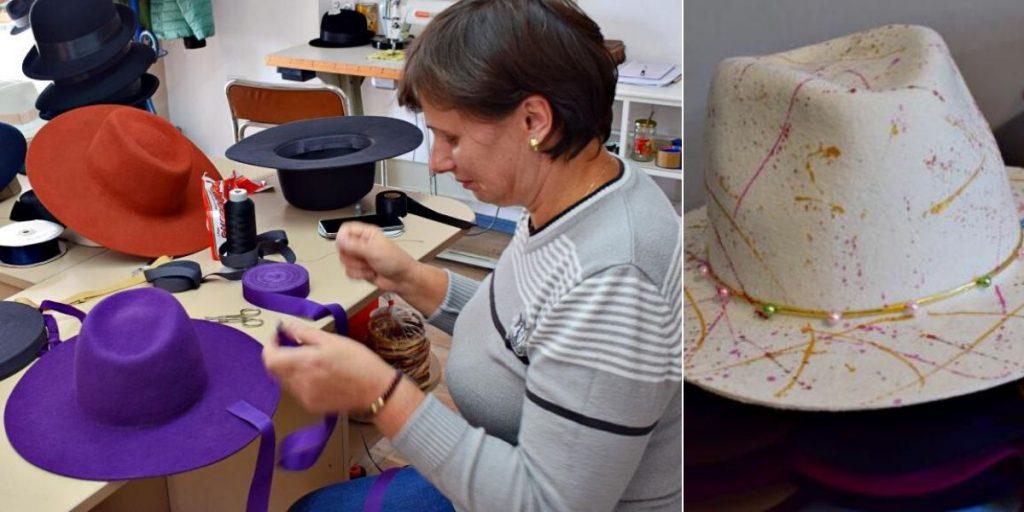 Atelierul de cusut – fiecare mașină e adaptată pentru anumite etape | Credit foto: Mira Kaliani
