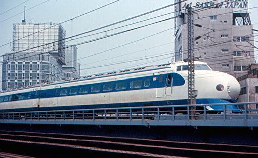 Tren de mare viteză din prima serie, Tokyo, mai 1967| Sursa: OMG Japan