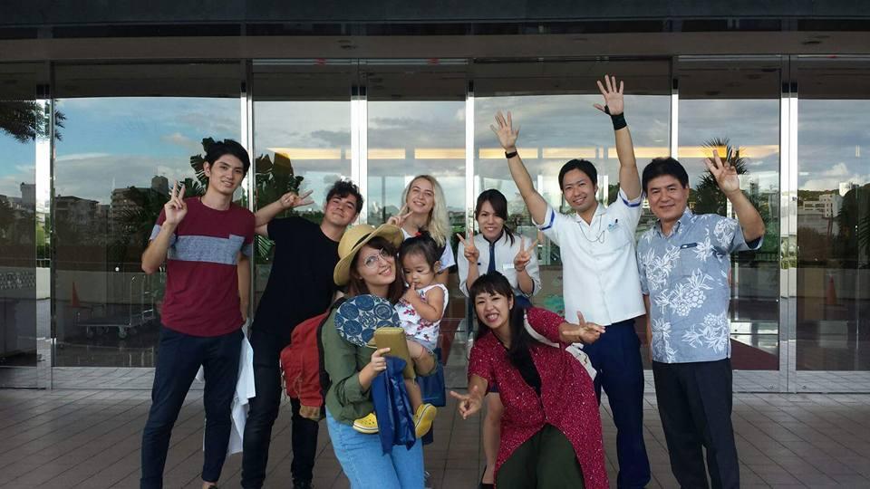 Alex, alături de prieteni din România și Japonia