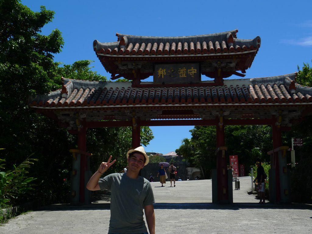 La Castelul Shurijo din Okinawa
