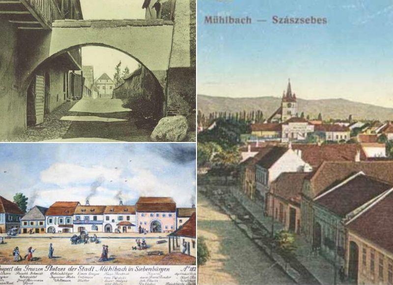 Sebeșul de altădată, imagini din cartea Sebeșul, o istorie în imagini
