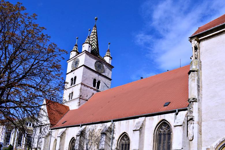 Biserica evanghelică din Sebeș | Foto: Mira Kaliani