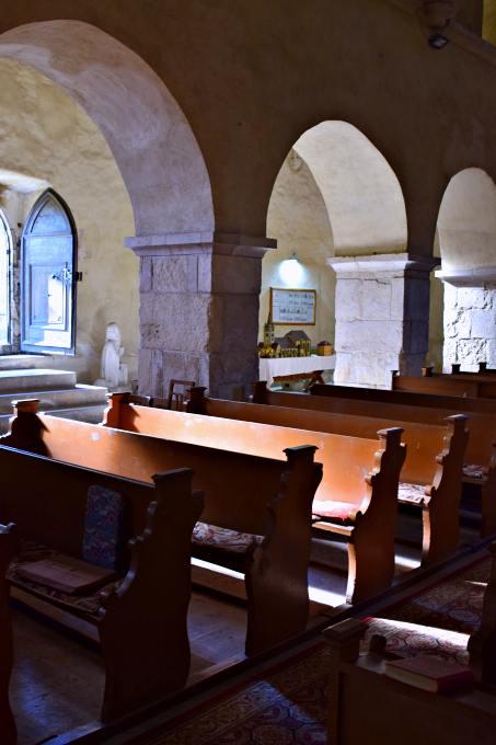 Biserica evanghelică din Sebeș, interior | Foto: Mira Kaliani