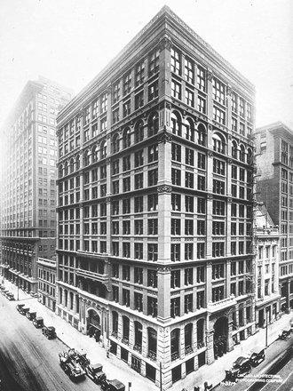 Home Insurance Building, finalizată în 1885, demolată după 46 de ani | Sursa: Chicago Architectural Photographing Company/Wikipedia, domeniu public