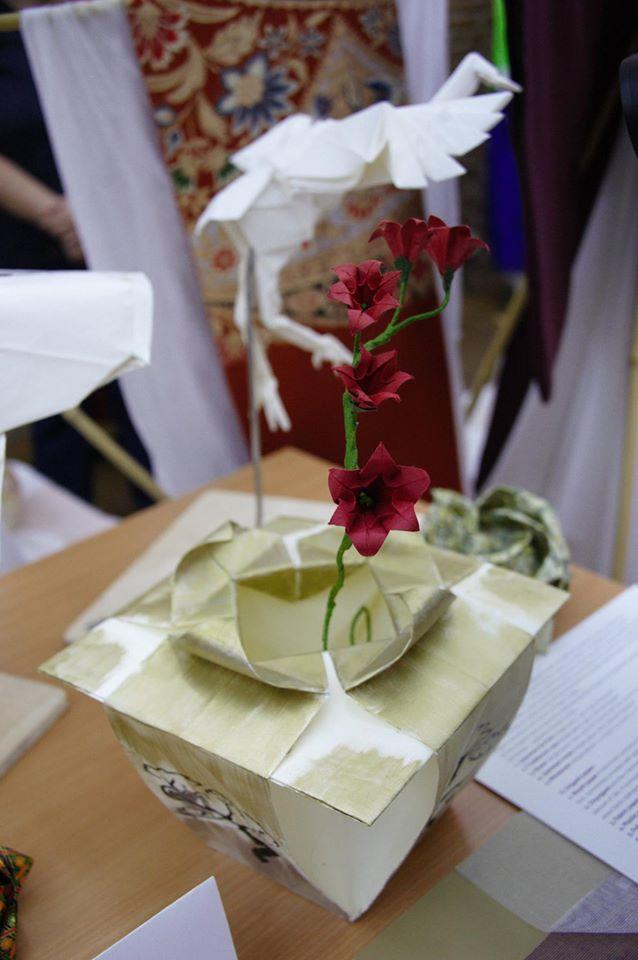 Expozitie Origami. Sursă: CSRJ
